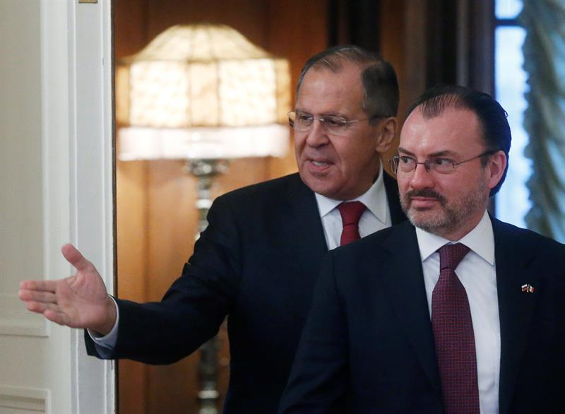 Mexican Foreign Minister Videgaray discusses bilateral relations with Lavrov