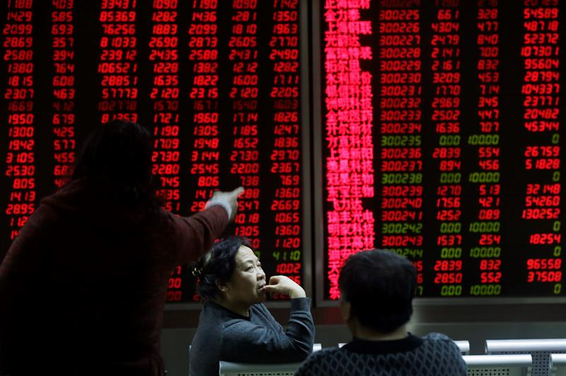 The Shanghai Stock Exchange opens with a decrease of 0.13 percent