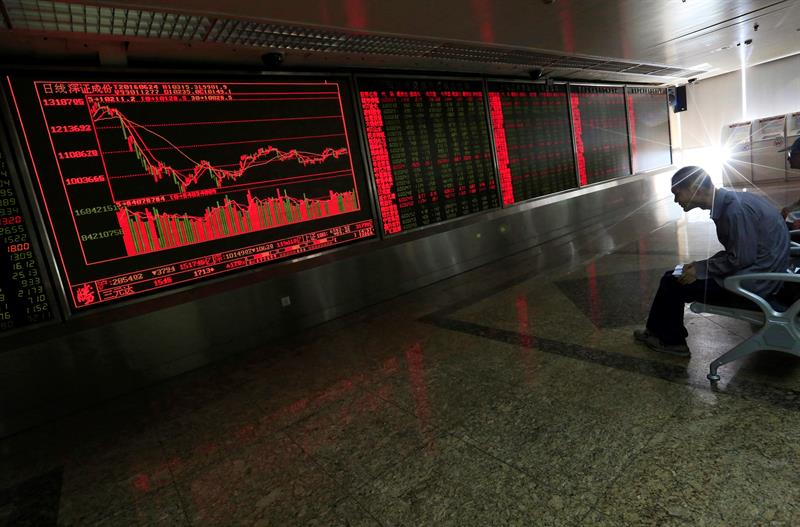 The Shanghai Stock Exchange opens with a drop of 0.08%