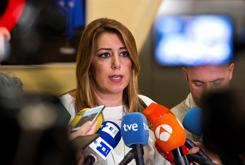 "Susana Díaz: ""It would be intolerable if Rajoy does not keep his word"""