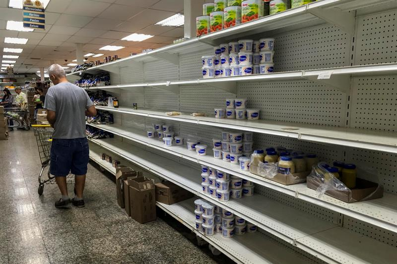 "The Venezuelan Government intervenes a wholesale chain for ""conditioning sales"""