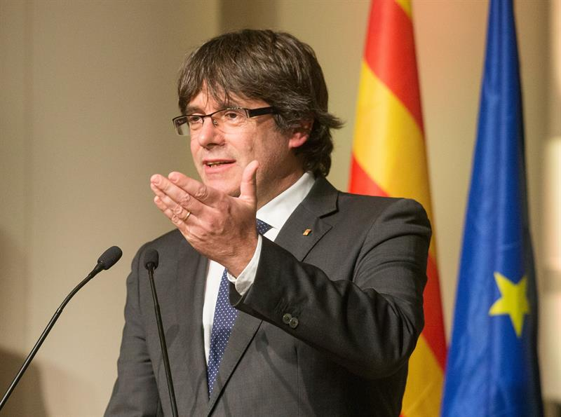 "Puigdemont accuses the State of having ""sentenced"" the candidacy for the EMA"